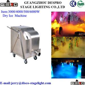 China Event 6000W Dry ICE Equipment Outdoor Stage Effect Equipment on sale
