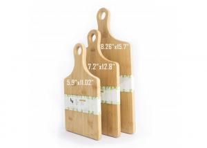 China Newest Non-Stick Design FDA Approved  Kitchen Chopper board with handle bamboo cutting board set on sale