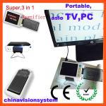 3 en 1 lupa electrónica baja portátil de Vision