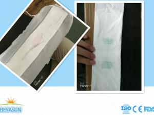 China 360 pack full packing B grade woman Sanitary Napkins With anion cheap price bulk packing on sale