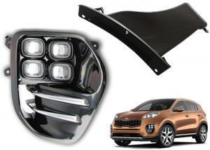 China OE Style Fog Lamps , LED Daytime Running Light DRL Kits for KIA SPORTAGE 2016 2018 KX5 on sale