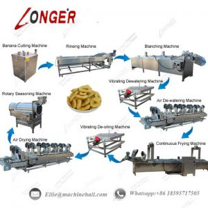 China Fully Automatic Banana Chips Production Line|Plantain Chips Making Machine|Hot Sale Chips Production Line on sale