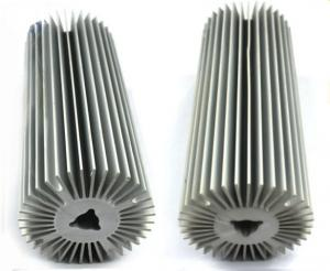 China Natural Oxidation Treatment Aluminum Heatsink Extrusion Profiles For Radiator on sale