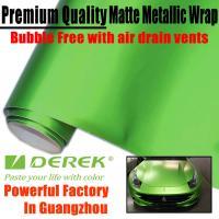 China Matte Metallic Car Wrapping Films - Matte Metallic Apple Green on sale