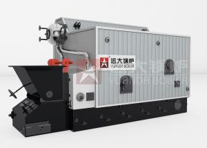 China Industrial Water Tube 4 Ton Fuel Rice Husk Steam Boiler For Rice Mill on sale