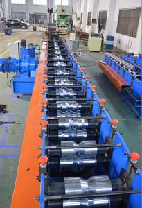 China Gear Box Storage Shelf Shelf Rack Roll Forming Machine , Metal Roll Forming Machine on sale