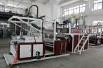 プラスチック二重層のストレッチ・フィルム機械HDPE/LDPE材料