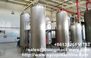 China Corn glucose syrup production line glucose manufacturing plant make glucose syrup from starch machine for sale on sale