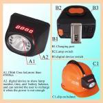 China waterproof IP67 underground mining use kl4.5lm cordless cap lamp wholesale