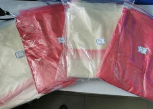 China Infectious Waste Plastic Biodegradable Bags , Hot Water Soluble Bags Clear Color on sale