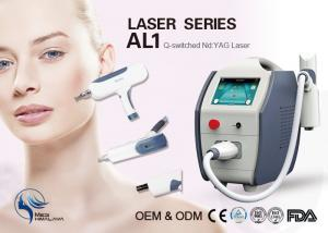 China Skin Rejuvenation / Skin Cleansing Q Switch Laser Tattoo Removal Machine 22kg on sale