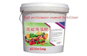 China Biological Organic Liquid Seaweed Plant Fertilizer Extracted From Natural Seaweed Materials on sale
