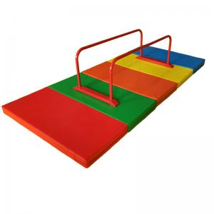 China Custom Size Childrens Gymnastics Equipment Colorful Galvanized Steel Pipe Material on sale