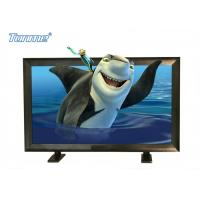 Indoor LCD Advertising Screen 3D Holographic With Timer PC Control