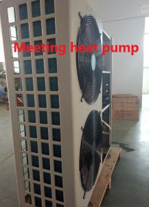China Floor Heating Air Source Low Temp Heat Pump Galvanized Steel Sheet 380V Side Blow  Safe & Comfort on sale