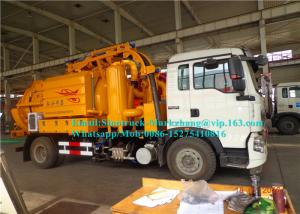 China 6000L High Pressure Special Purpose Truck / Sewage Suction Truck Multi Functional Combined on sale