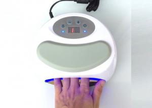 China Portable White 24W CCFL UV LED Nail Lamp / Led Curing Lamp For Gel Nails on sale