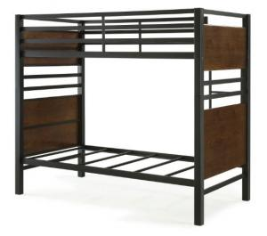 China Comfortable Double Bunk Beds Bedroom Furniture Fire Wood Motherboard on sale