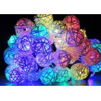 China Colorful Solar Lantern String Lights Outdoor / Indoor Use Waterproof 20 Ft Long on sale
