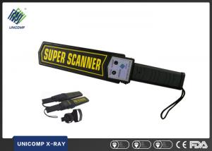 Quality Super Scanner Hand Held Metal Detector 22KHz Frequency UNX3003B1 For Hotel Metro for sale