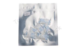 China 2g FDA silica gel desiccant bags with food paper , Silica Gel Moisture Absorber on sale