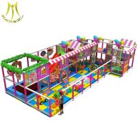 China Hansel   hot selling game room equipment soft play area children's play maze on sale
