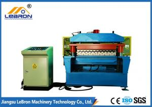 China 70mm Shaft Corrugated Iron Manufacturing Machines 380V 50Hz 0.3-0.8mm Thickness on sale
