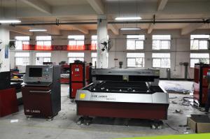 China YAG Stainless Steel Laser Cutting Machine , Metal Laser Cutter Machine on sale