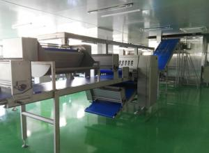 China Machine automatique industrielle de stratification pour 1500 kilogrammes de pâte Corissant rempli par capacité on sale