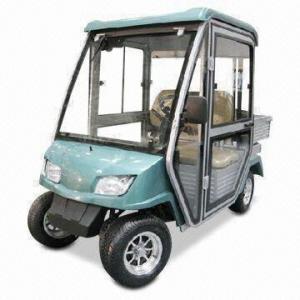 Electric Golf Cart With 3 5m Minimum Turning Radius 2 Seat Car