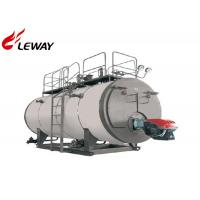 4T Horizontal Domestic Oil Fired Boilers 194℃ Steam Temperature SGS Approved