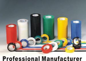 China Da fita elétrica da isolação do PVC chama de alta temperatura da resistência - colagem adesiva retardadora on sale