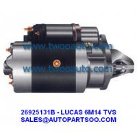 China LUCAS TVS Starter Motor 6M14 SERIERS 12V 2.2KW 10T 26925131B 26M251 on sale