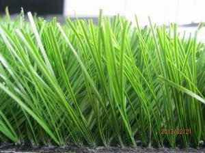 China Artificial turf grass 50mm Diamond Monofil PE used in playground on sale