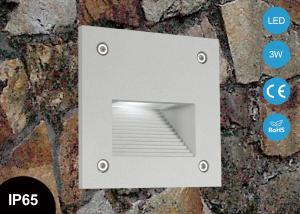 China 3W IP65 Outdoor LED Step Lights aluminum led recessed corner step lighting CE RoHs on sale