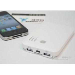China Polymer Li-ion Portable Battery Charger For Iphone Series And All Mobile Phones on sale