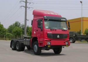 China HOWO,Tractor, Semi-trailer Towing Truck,6*6,LHD/RHD ZZ4257N3557C1/S2WA on sale