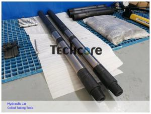 China Coiled Tubing Drilling Jar Placement / Bi Directional Cable Tool Drilling Jars on sale