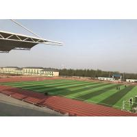 China Mini Football Field Realistic Artificial Grass UV - Resistant Natural on sale