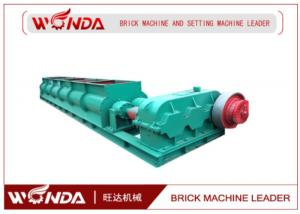 China SJ 4000 Double Shaft Mixer , Small Clay Mixer Red Brick Production Line Applied on sale