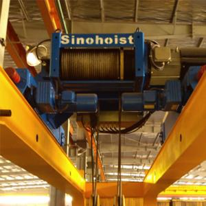 China Standard Remote Control Double Girder Crane 50 Ton , Overhead Crane Systems on sale