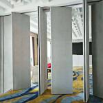 Aluminium Accessories Commercial Operable Walls Banquet Hall Removable Partitions