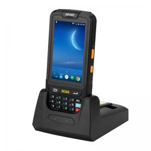 China Wireless Bluetooth Wifi Rugged Android PDA Mobile 2D Barcode Scanner with Dispaly on sale