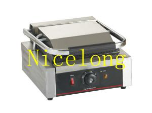 China High efficiency stainless steel electric grill panini contact grill EGD-10 on sale