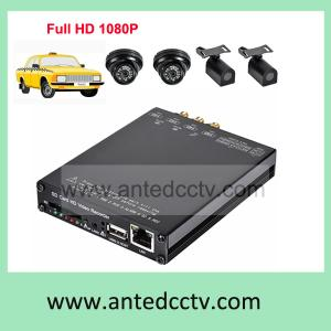 China 4ch Vehicle Mobile Security DVR SD card Digital Video Recorder CCTV surveillance system 3G GPS HD1080P on sale