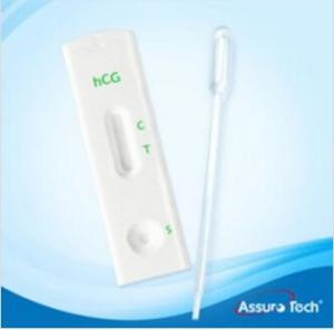 China HCG Pregnancy test kit HCG one step test cassette urine /serum specimen CE certificate FDA Approved on sale