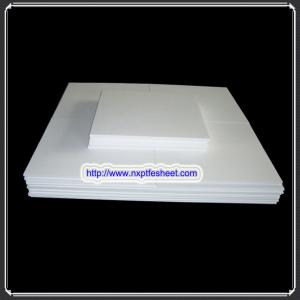 China Seal anticorrosion construction engineering material  ptfe molded sheet plate board thickness 4~200mm on sale