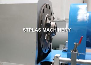 China Full Automatic PP PE Film Fiber Squeezer Cutter Machine For Pellets SKD-II Blade on sale