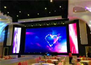 China P3 SMD Background 1R1G1B Stadium LED Screens , Home Video Wall Concert Led Display on sale
