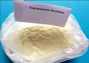 China Yellow Powder Trenbolone Acetate Injection Steroid 100mg/ml CAS 10161-34-9 Muscle Building on sale